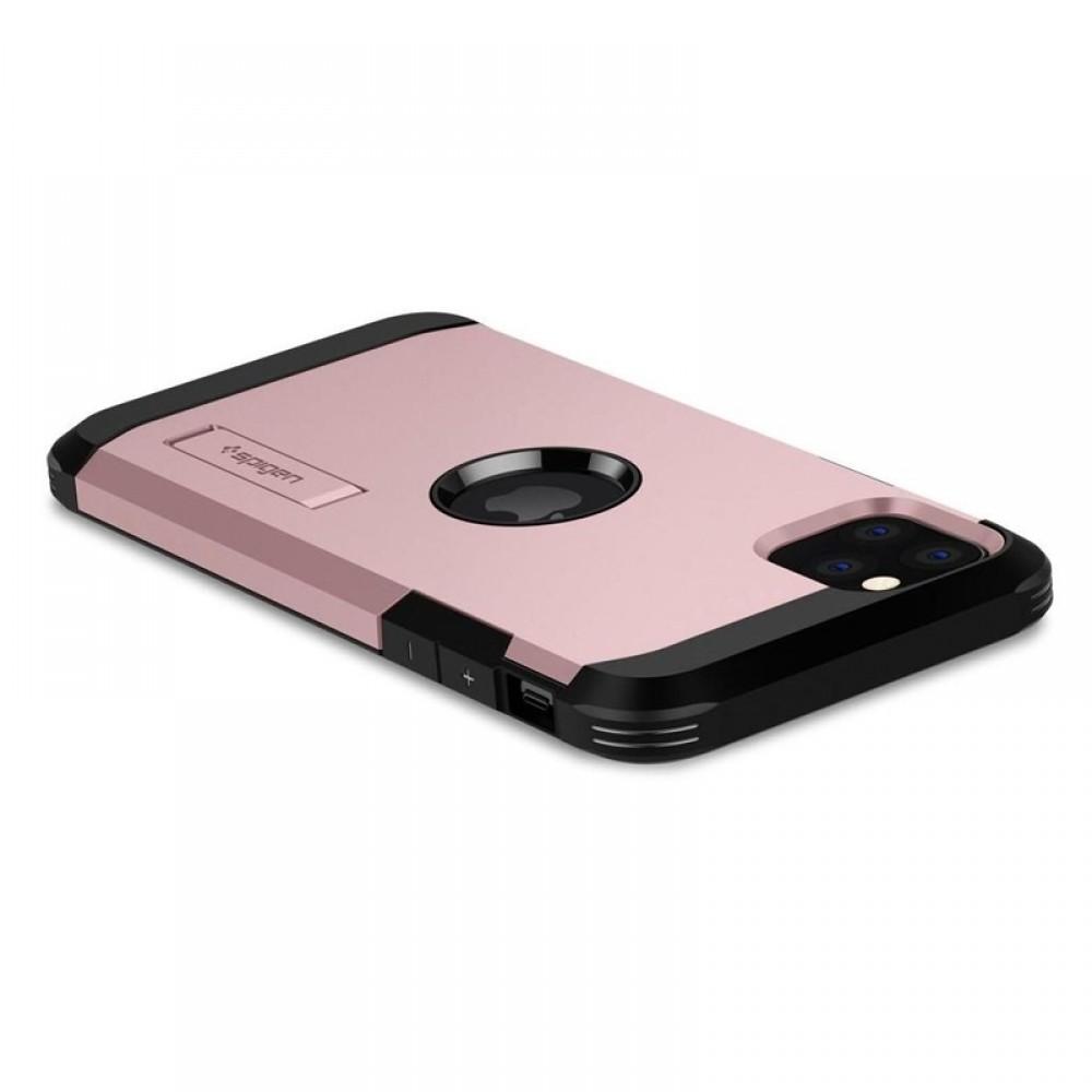 Θήκη Spigen Tough Armor Back Cover για iPhone 11 Pro Max (Rose Gold)