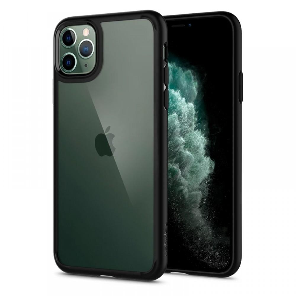 Θήκη Spigen Ultra Hybrid Back Cover για iPhone 11 Pro (Μαύρο Ματ)