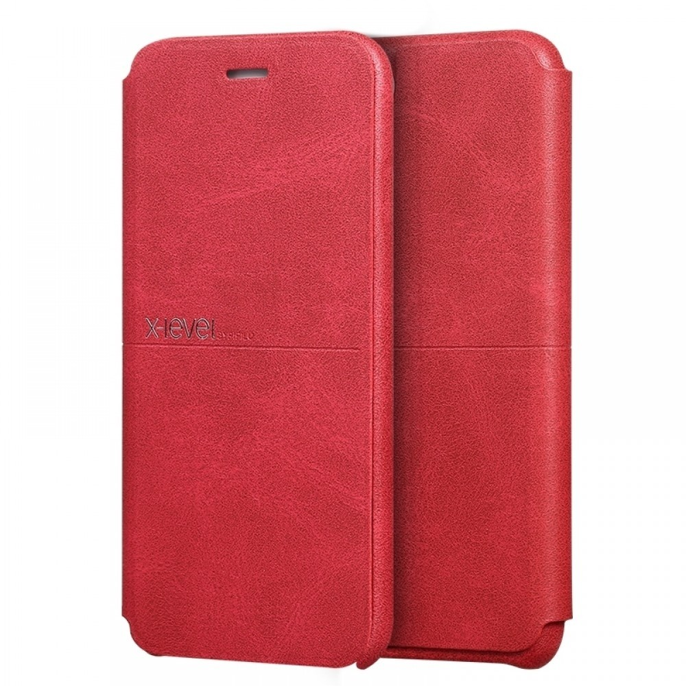 Θήκη X-Level Extreme Flip Cover για iPhone 11 (Κόκκινο)