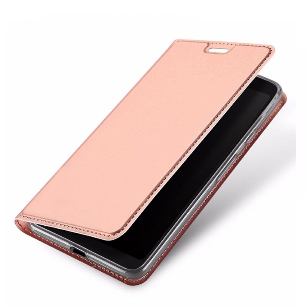 Θήκη Dux Ducis SkinPro Flip Cover για Huawei Y7 2019 (Rose Gold)