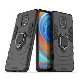 Θήκη OEM Ring Armor Kickstand Back Cover για Xiaomi Redmi Note 9S/ 9 Pro (Μαύρο)