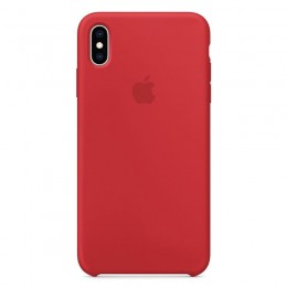 Θήκη Original Apple Silicone Case για iPhone X/XS (MRWC2ZM/A) (Red)