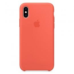 Θήκη Original Apple Silicone Case για iPhone X/XS (MTFA2ZM/A) (Nectarine)