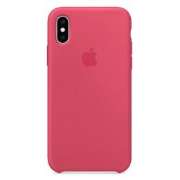 Θήκη Original Apple Silicone Case για iPhone X/XS (MUJT2ZM/A) (Hibiscus)