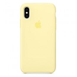 Θήκη Original Apple Silicone Case για iPhone X/XS (MUJV2ZM/A) (Mellow Yellow)