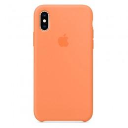 Θήκη Original Apple Silicone Case για iPhone X/XS (MVF22ZM/A) (Papaya)