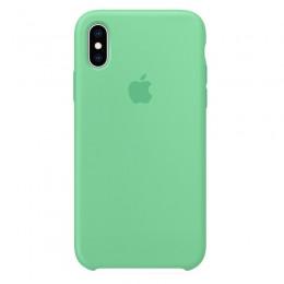 Θήκη Original Apple Silicone Case για iPhone X/XS (MVF52ZM/A) (Spearmint)