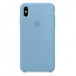 Θήκη Original Apple Silicone Case για iPhone X/XS (MW982ZM/A) (Cornflower)