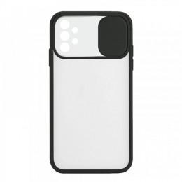 Θήκη Lens Back Cover για Samsung Galaxy A32 (Μαύρο)