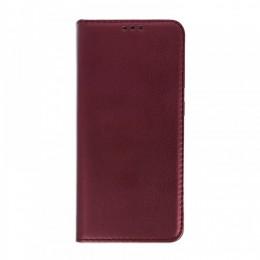 Θήκη Smart Magnetic Flip Cover για Huawei P40 Lite (Μπορντώ)