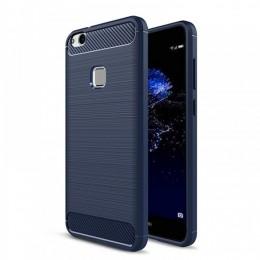 Θήκη MyMobi Back Cover Carbon Case για Xiaomi Poco M3 (Μπλε)