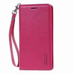 Θήκη Hanman Art Leather Diary για Samsung Galaxy S20 Plus (Φουξ)