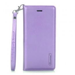 Θήκη Hanman Art Leather Diary για Samsung Galaxy Note 20 Ultra (Μωβ)