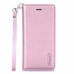 Θήκη Hanman Art Leather Diary για Samsung Galaxy S20 Plus (Ροζ)