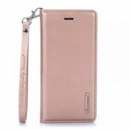 Θήκη Hanman Art Leather Diary για Samsung Galaxy S20 Plus (Rose Gold)