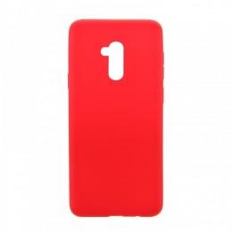 Θήκη MyMobi Σιλικόνης Mat Back Cover για iPhone 12 mini (Κόκκινο)