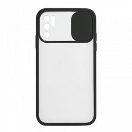 Θήκη Lens Back Cover για Xiaomi Redmi Note 10 5G (Μαύρο)
