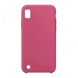 Θήκη OEM Silicone Back Cover για Samsung Galaxy A10 (Dark Pink)