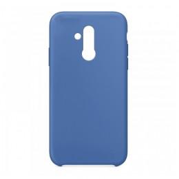 Θήκη OEM Silicone Back Cover για Huawei Mate 20 Lite (Blue)