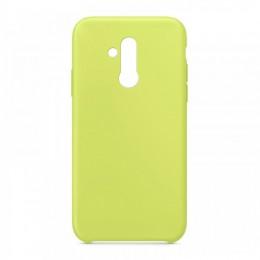 Θήκη OEM Silicone Back Cover για Huawei Mate 20 Lite (Lemon Yellow)