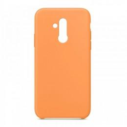 Θήκη OEM Silicone Back Cover για Huawei Mate 20 Lite (Orange)