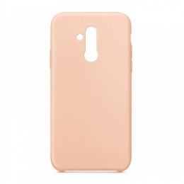 Θήκη OEM Silicone Back Cover για Huawei Mate 20 Lite (Pink)