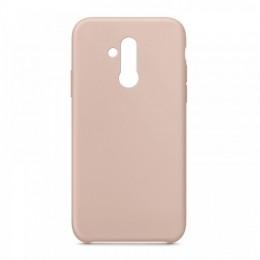 Θήκη OEM Silicone Back Cover για Huawei Mate 20 Lite (Pink Sand)