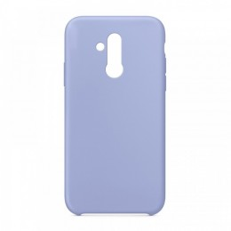 Θήκη OEM Silicone Back Cover για Huawei Mate 20 Lite (Purple)