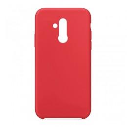 Θήκη OEM Silicone Back Cover για Huawei Mate 20 Lite (Red)