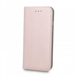 Θήκη Smart Magnetic Flip Cover για Huawei P40 Lite (Rose Gold)