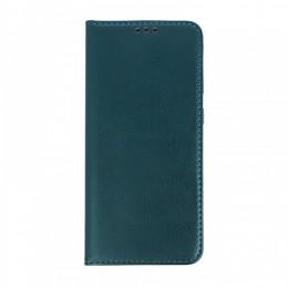 Θήκη Smart Magnetic Flip Cover για Huawei P40 Lite E (Σκούρο Πράσινο)