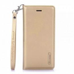 Θήκη Hanman Art Leather Diary για Samsung Galaxy S20 Plus (Χρυσό)