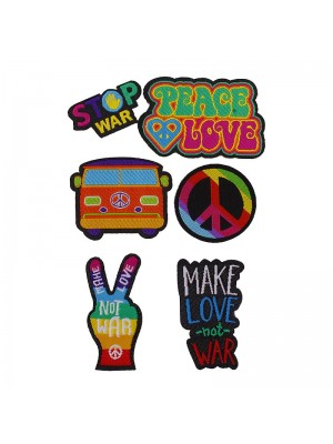 Puro Kit Patch Mania Peace and Love (Design)