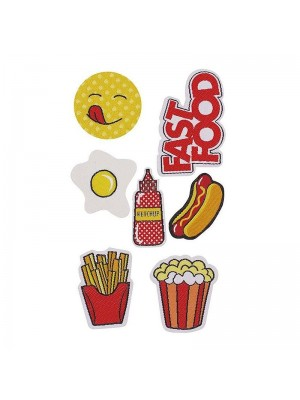 Puro Kit Patch Mania Fast Food (Design)