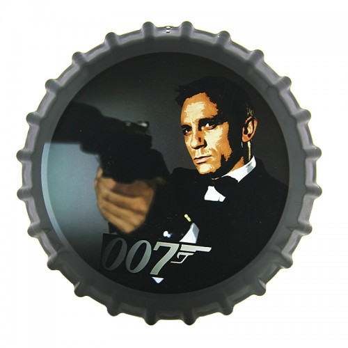 Διακοσμητικό Τοίχου Καπάκι James Bond 007 (Design)