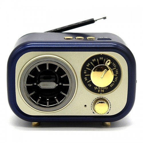 Ασύρματο Ραδιόφωνο Meier M-208BT (Μπλε)