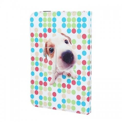Θήκη Tablet Puppy Flip Cover για Universal 7-8'' (Design)