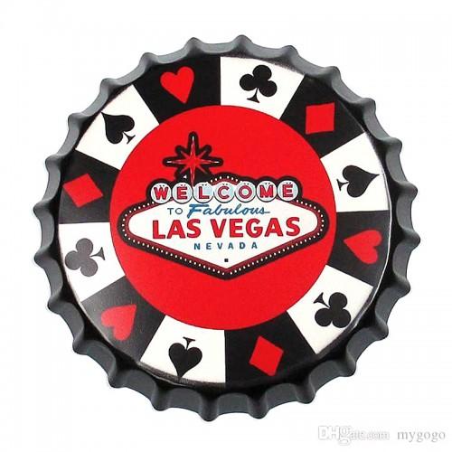 Διακοσμητικό Τοίχου Καπάκι Las Vegas (Design)