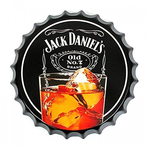 Διακοσμητικό Τοίχου Καπάκι Jack Daniels Old No. 7 (Design)