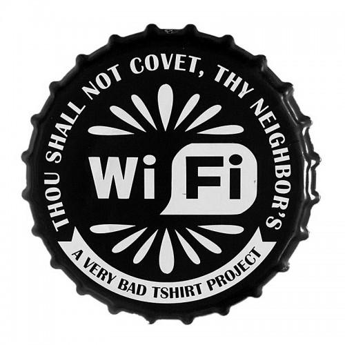 Διακοσμητικό Τοίχου Καπάκι WiFi (Design)