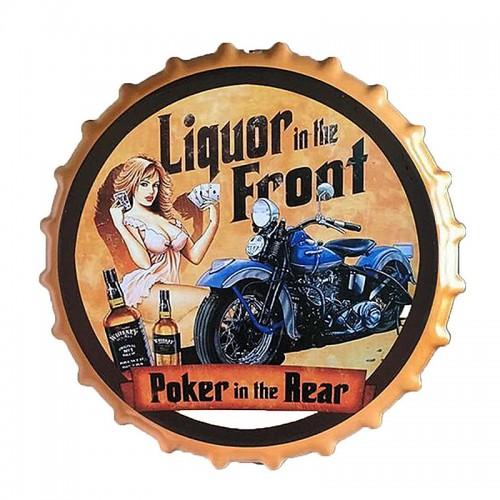 Διακοσμητικό Τοίχου Καπάκι Liquor in the Front (Design)