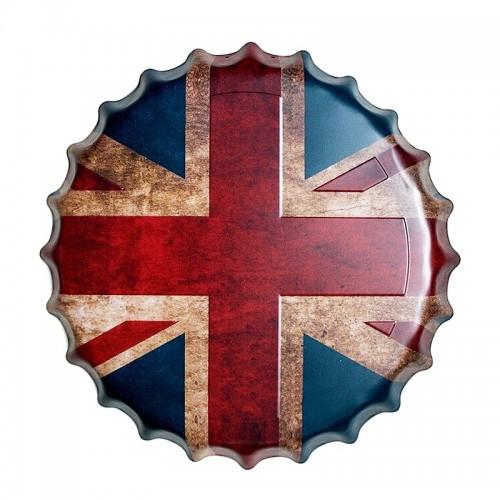 Διακοσμητικό Τοίχου Καπάκι British Flag (Design)