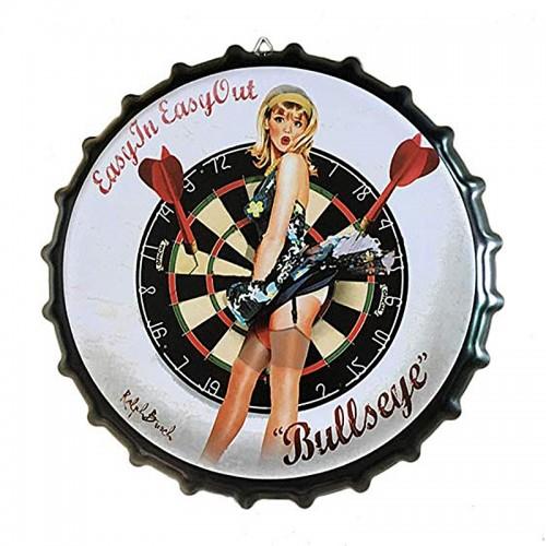 Διακοσμητικό Τοίχου Καπάκι Bullseye (Design)