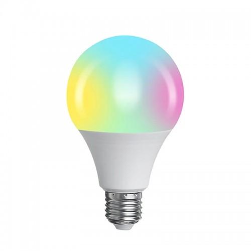 LED Colorful Lamp B50 RGBW 3W με τηλεχειριστήριο (Άσπρο)