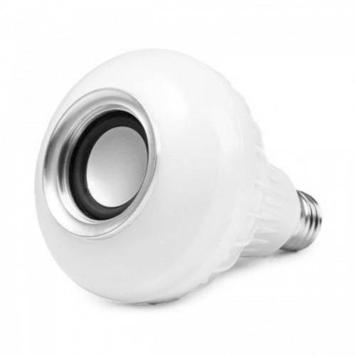 LED Music Bulb Bluetooth LY60 12W με τηλεχειριστήριο (Άσπρο)