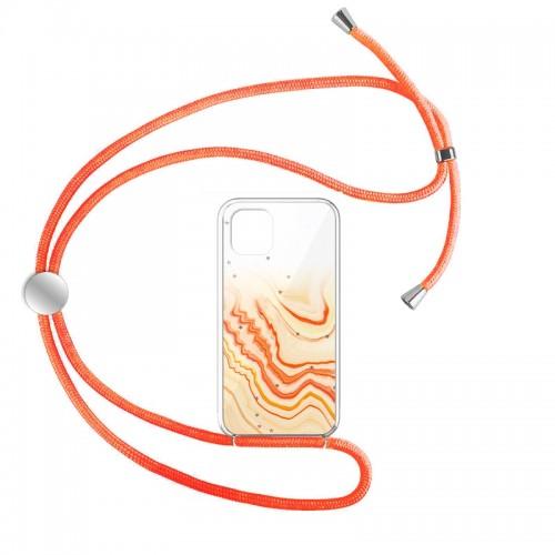 Θήκη Star Orange Cord Design 1 Back Cover για iPhone 12 Pro Max (Design)