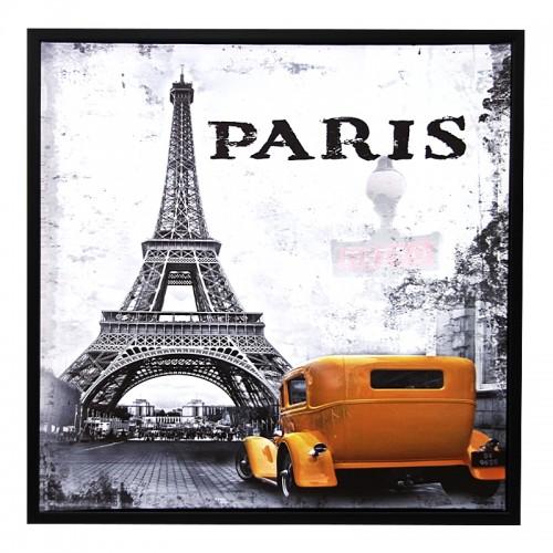 Διακοσμητικό Κάδρο 59x59 Paris Design 1 (Design)