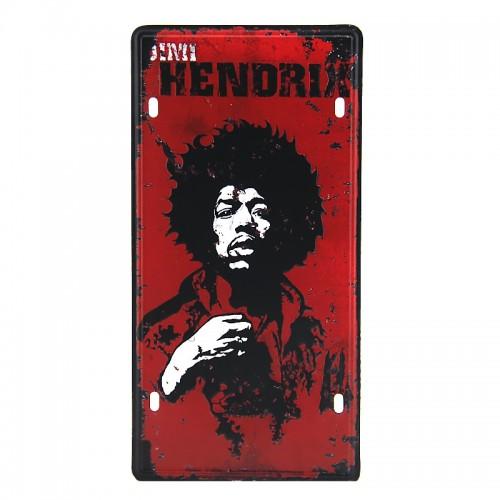 Μεταλλική Διακοσμητική Πινακίδα Τοίχου Hendrix 15X30