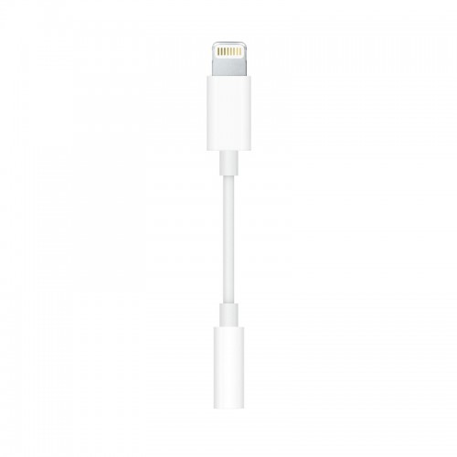 Αντάπτορας Lightning σε Jack 3.5mm - Apple MU7E2ZM/A (Retail Packaging) (Άσπρο)