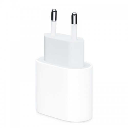 Apple USB-C Power Adapter 18W MU7V2ZM/A (Blister) (Άσπρο)